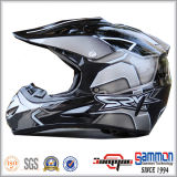 DOT Cool Black Motorcross/van Road Helmet met Graffiti (CR402)