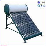 Chauffe-eau solaire pressurisé de tube électronique compact superbe de caloduc