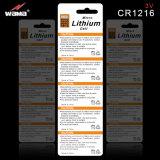 batterie Cr1616 delle cellule del tasto del litio 3V