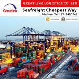 O frete de mar o mais barato de LCL/FCL de Ningbo/Wuhai/Shanghai de China a Kolkata, India