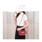 O vermelho rebita os sacos frescos da senhora Saco Coreano Versão Mini do estilo (A070-3)