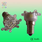 LED C9 Candle Luz Decorativa de Natal LED C7 E17 Festival Lamps