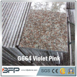 Дешевый розовый темный каменный гранит плитки пола для пола, стены, лестницы, силла окна