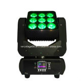 新しい9 Pieces 10W 3X3 LED Moving Head Matrix Beam Lighting