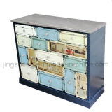 Шкаф 4 дверей ящиков 2 деревянный для хранения