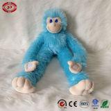 Giocattolo farcito scimmia su ordinazione di seduta blu-chiaro della peluche del CE