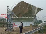 Planta térmica solar Csp do vapor solar do produto do coletor da calha