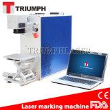 Preço da máquina da marcação do laser da fibra do triunfo 20W 30W