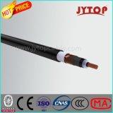 N2xs2y câble en cuivre, 20,3 / 35 Kv XLPE isolé, plat fil d'acier blindé, Simple-Core Câble avec Cuivre