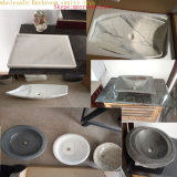 Vente en gros Cuisine / Salle de bain / Motel Marlbe / Granaite / Acrylique / Fake / Quartz Bathroom Vanity Top Turkey