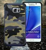 Note7のための軍の軍隊の電話箱、TPU+PCの電話アクセサリ