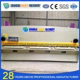 Máquina de corte hidráulica do aço suave do CNC de QC12y