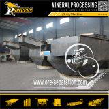 Jigger automático de mineral do ouro da máquina do separador do gabarito da gravidade do processamento mineral