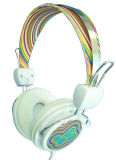 Auriculares prendidos estereofónicos baixos profundos Foldable clássicos do auscultadores do DJ