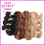 Omber Hair Extensionsのための3カラーTop Quality 100%年のVirgin Peruvian Human Remy Hair