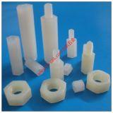 Suporte isolador de nylon do suporte isolador plástico do hexágono para o material do PWB