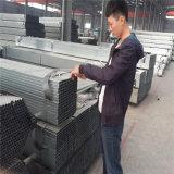 Tubo d'acciaio quadrato temprato nero SS400