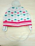 아이들의 형식 다채로운 점에 의하여 뜨개질을 하는 모자 & 스카프 & 장갑