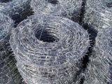 Maschendraht PVC-Stacheldraht-/Sicherheitszaun-Filetarbeits-Rasiermesser-Draht China-Anping