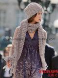 Señoras el último mantón de acrílico de Pashmina del telar jacquar del invierno de la manera de Pashmina de las bufandas de los mantones de las lanas y de la cachemira