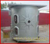 750 quilogramas de cobre que derrete a fornalha de indução elétrica