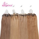 Promoção--Extensão brasileira do cabelo de Remy do Virgin da alta qualidade