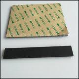 Mousse en caoutchouc de silicone avec adhésif pour l'étanchéité et du joint