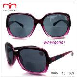 Glaces bifocales en plastique de lecteur de Sun de dames (WRP409002&WRP409007)