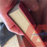 Покрашенный дневник кожи крышки PU
