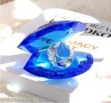 기술 선물 (Ks250409)를 위한 다이아몬드를 가진 자주색 수정같은 쉘