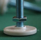 가정 M10 가구 & 장비 발 패드 잠그개를 위한 놀이쇠 Rubber/ABS/PE 헤드 & 견과