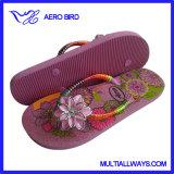 Caduta di vibrazione delle ragazze del sandalo di EVA delle donne della cinghia del fiore di modo