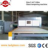 Aufbauendes flaches Glas, das Maschine mildert