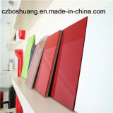 Thermoforming Glossy Acrylic/ABS Sheets con PE Film per Kitchen Cabinate