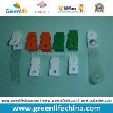 백색 색깔 플라스틱 최신 영업소 문구용품 ID 선전용 클립