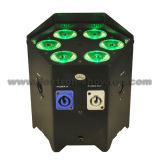 Batería sin hilos LED Uplights 6X12W RGBWA+UV 6 in-1