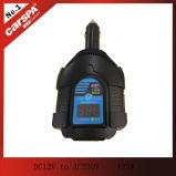 Heet verkoop gelijkstroom aan AC de omschakelaar van de automacht, DC12V aan AC230V 125W de omschakelaar van de automacht met digitale vertoning