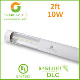 Guarnición del tubo fluorescente LED de la UL Dlc T8 LED