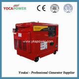 Beweglicher leiser Dieselgenerator 5kw mit roter Farbe