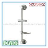 Barre coulissante réglable de douche de main de salle de bains d'acier inoxydable