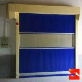Rolo automático da tela do PVC acima da porta rápida para extensamente using