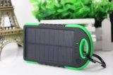 LED 가벼운 4000mAh를 가진 휴대용 방수 방진/Shakeproof 태양 에너지 은행