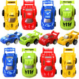 Carro plástico dos desenhos animados da frição do brinquedo do carro