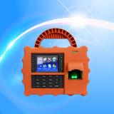 Pulso de disparo de tempo da impressão digital de GPRS com o leitor de cartão da identificação (TFT500P/GPRS)