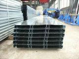 電流を通された鋼鉄床のDeckingシートYx65-185-555