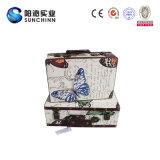 Valigia di legno antica di memoria (SCSC00024)