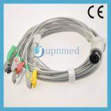 Cable de Tge PRO1000 5-Lead ECG con los Leadwires