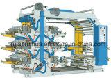 3つのカラーフレキソ印刷のプラスチックポリエステル・フィルムの印字機