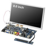 Модуль LCD 8 дюймов с сопротивляющим сенсорным экраном для POS ATM