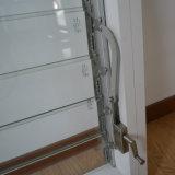 Окно штарки алюминиевой ручки ролика рамки Kz122 стеклянное
